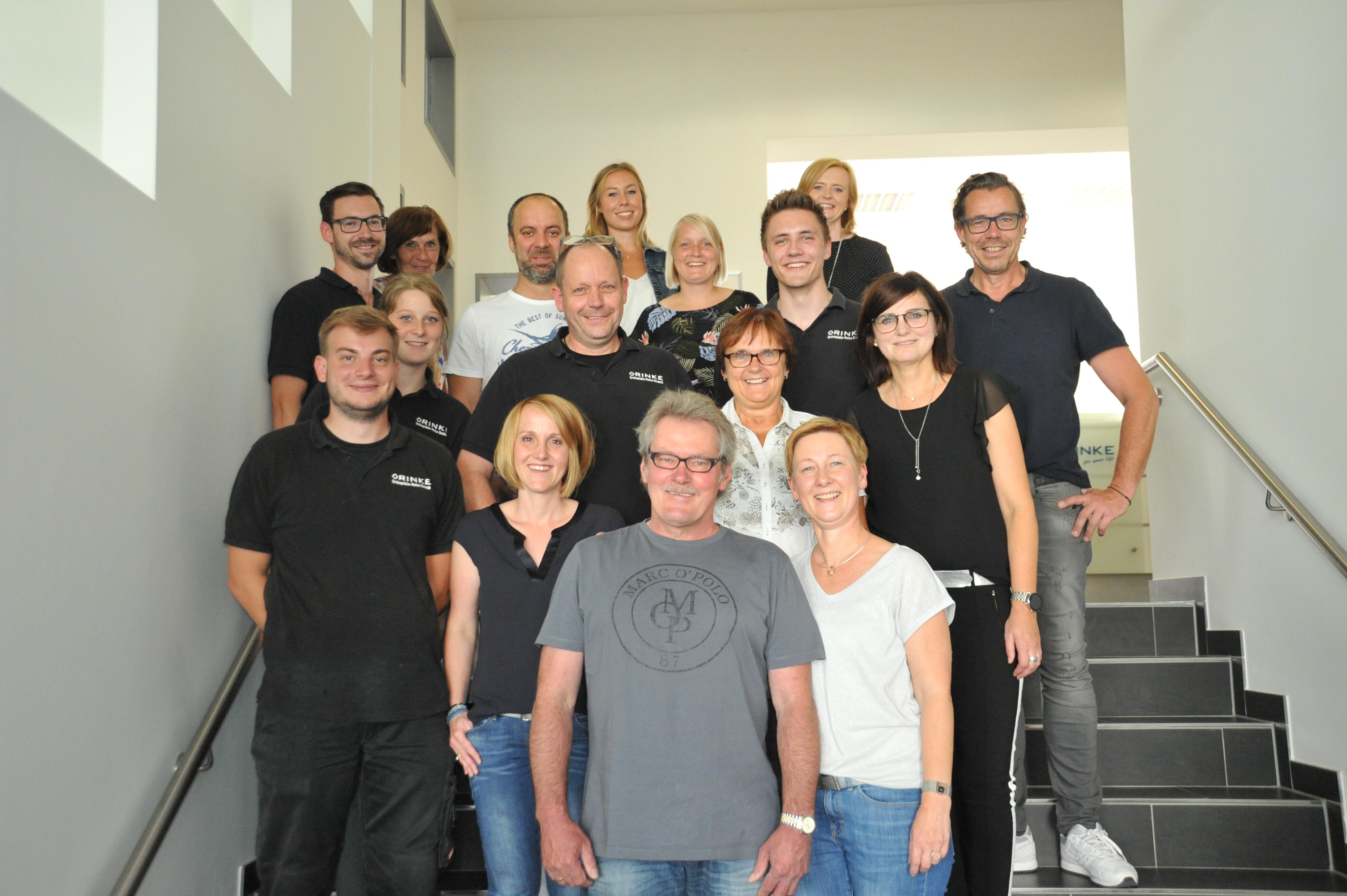 Sanitätshaus Rinke Team