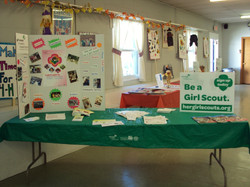 Girl Scout Table!