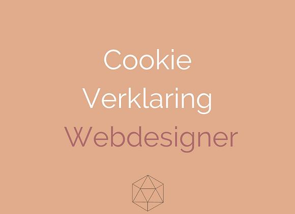 Cookieverklaring Webdesigners