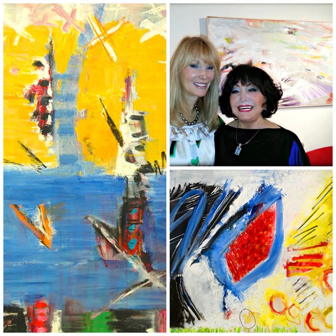 Dina Gustin Baker, Artist, Friend and Inspiration