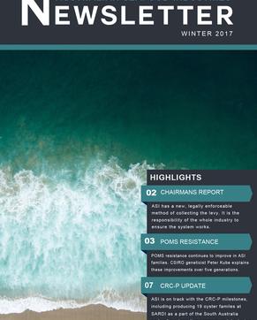 ASI newsletter online winter 2017