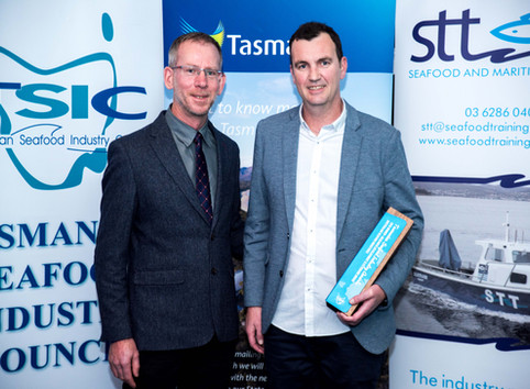 ASI wins the Research, Development and Extension Award in the 2019 Tasmanian Seafood Industry Awards