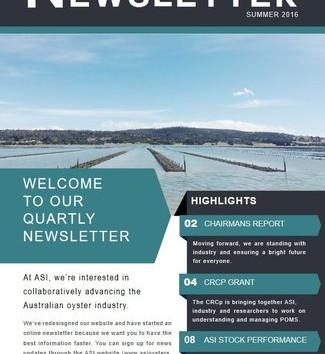 ASI new newsletter online summer 2016
