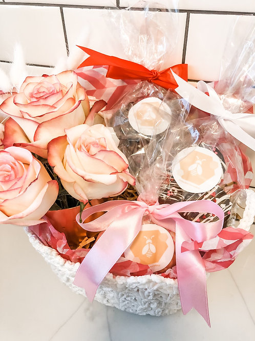 Blooms and Bakery Basket