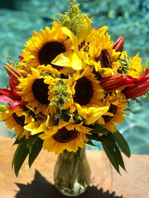 Sun and Lilies