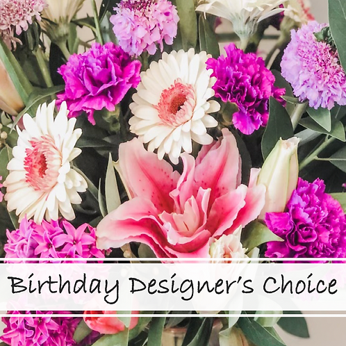 Birthday Designer's Choice
