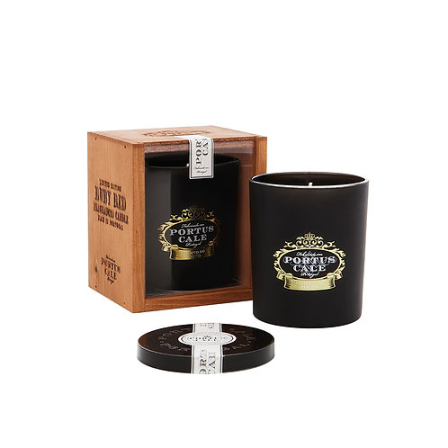 Candle - Portus Cale - Ruby Red