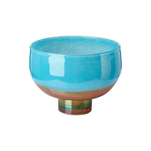 Bowl horizon aqua gold