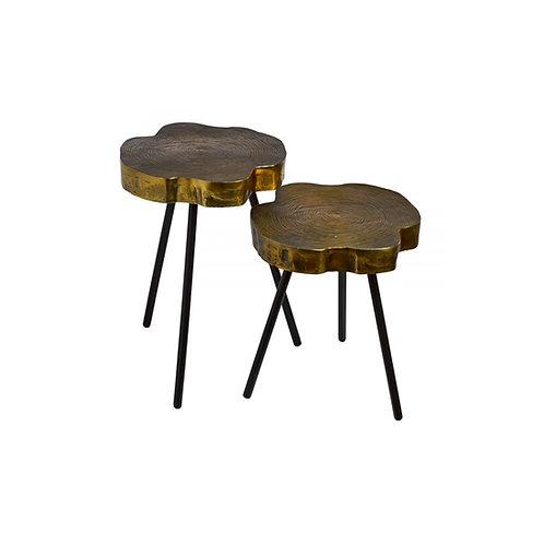 Side table tree slice - Set 2