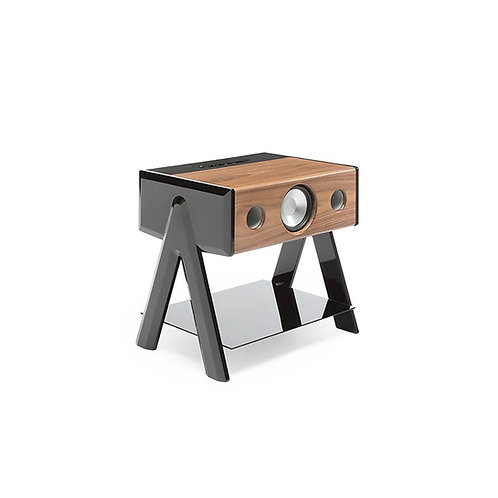 La Boite Concept - Cube woody speaker piano black legs