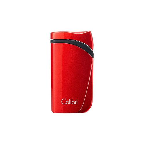 Briquet - Colibri - Falcon Metallic Red