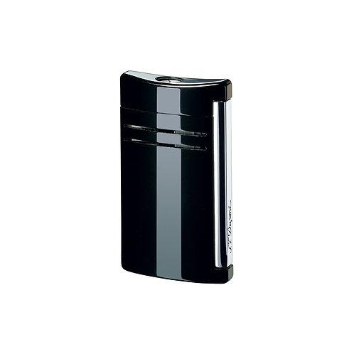 Briquet - S.T. Dupont - Maxijet Finition Chrome - Noir ténèbre