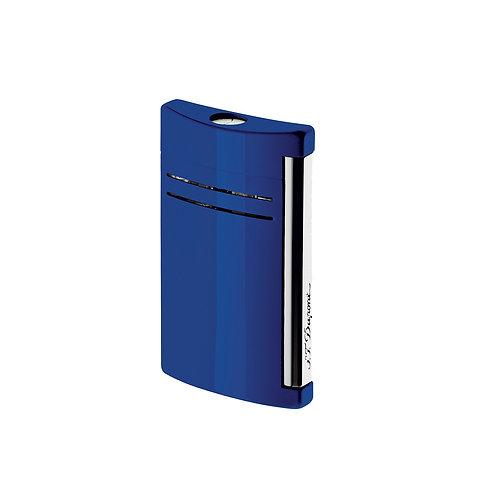 Briquet - S.T. Dupont - Maxijet Finition Chrome - Bleu nuit