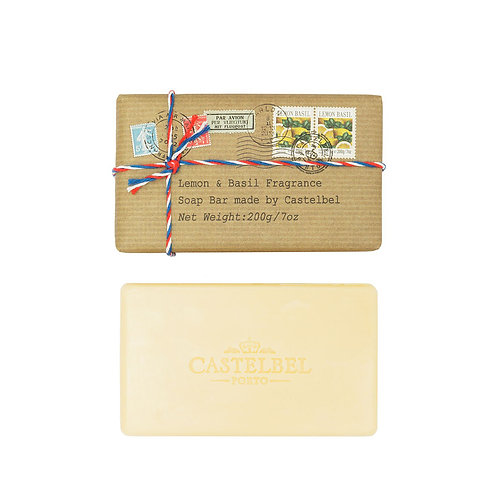 Soap - Postcard Lemon & Basil - 200g