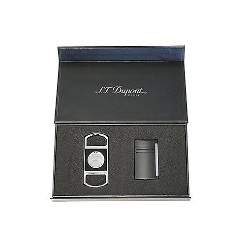 Set Maxijet - Gris chrome, Noir
