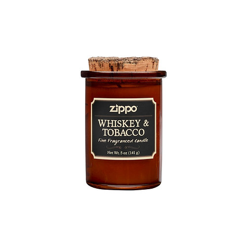 Candle - Zippo - Whiskey & Tobacco