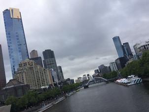 Melbourne folyója és látképe