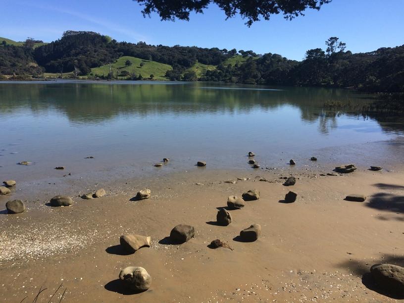új-zéland; természet