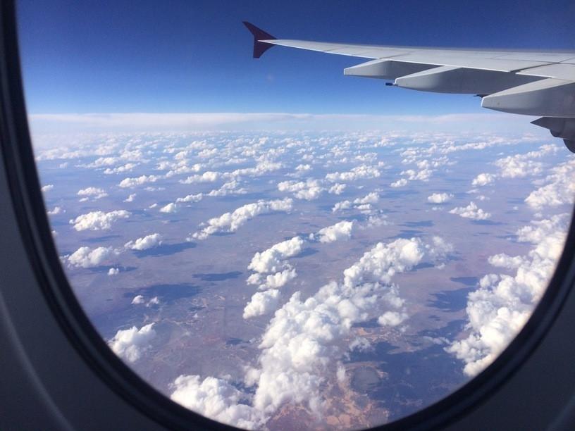 Ausztrália végtelen földje és a felhők