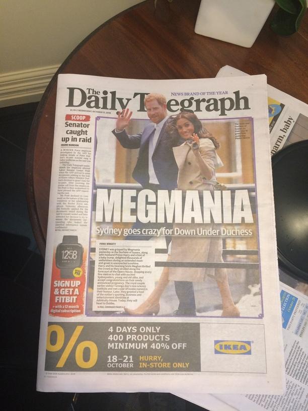 Meghan és Harry herceg Sydneyben 2018-ban