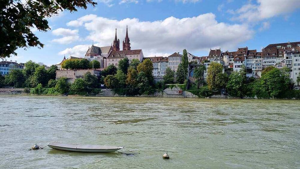 Bázel óvárosa és a Münster katedrális