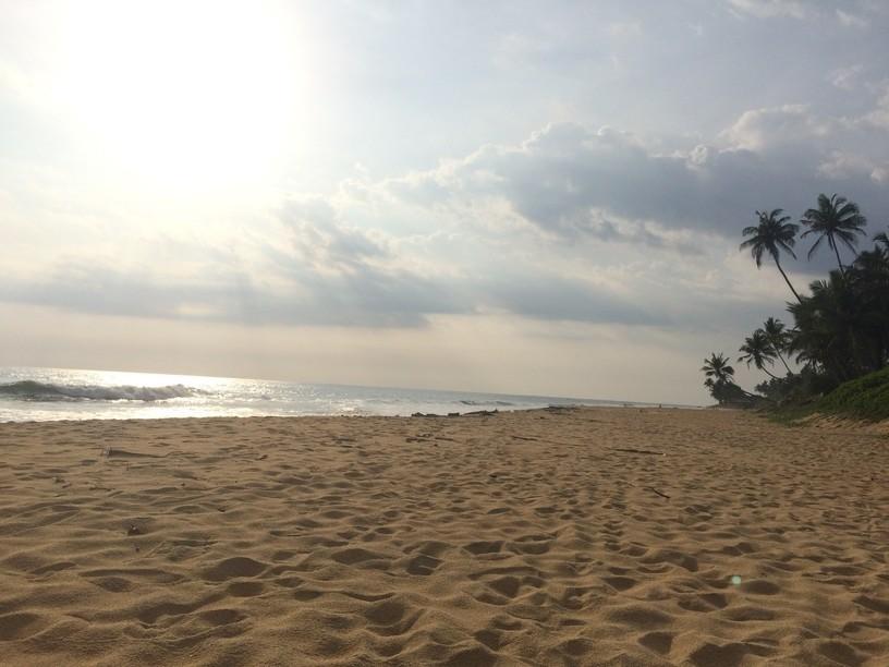 Aranyhomokos tengerpart, Srí Lanka