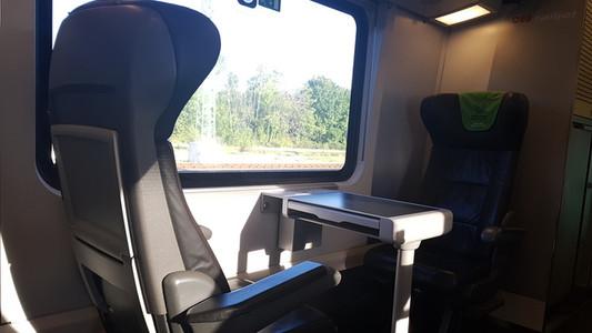 Railjet - első osztály Bécsbe utazás