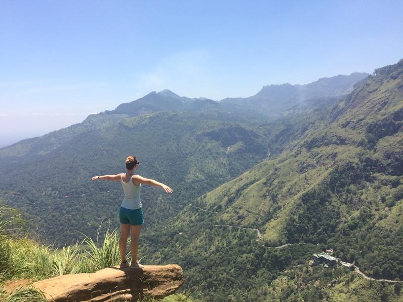 A Little Adam's peak tetején, Srí Lanka