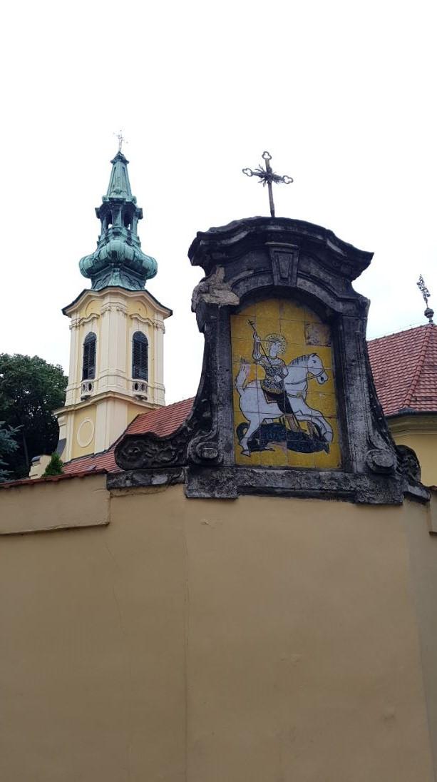 Szent György szerb templom, Budapest