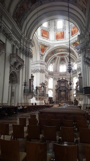 Salzburg dóm belülről