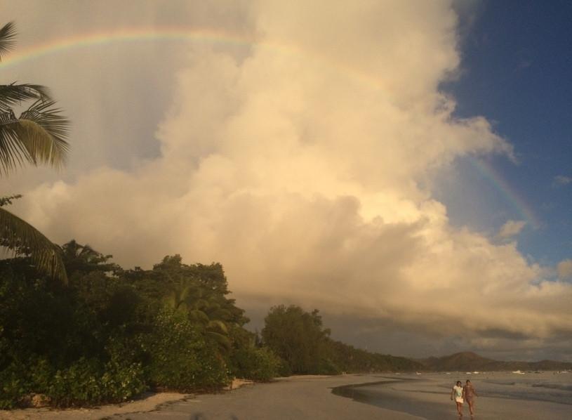 Napfelkelte, Seychelle-szigeteken