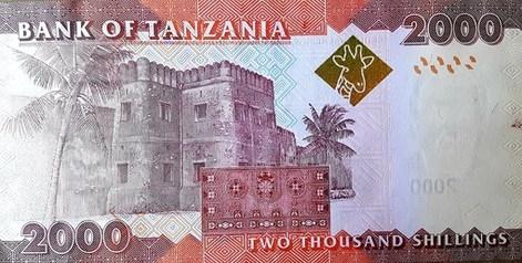 Tanzániai shilling - hátlap
