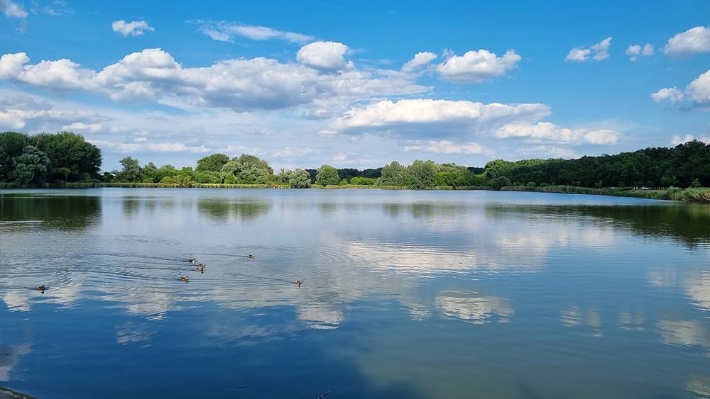 Naplás-tó csodálatos tája