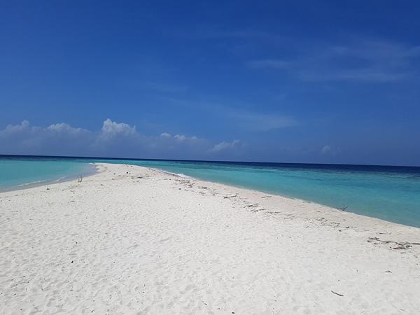Fehérhomokos tengerpart