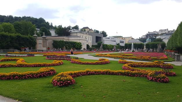 Mirabell-kert, Salzburg, Ausztria