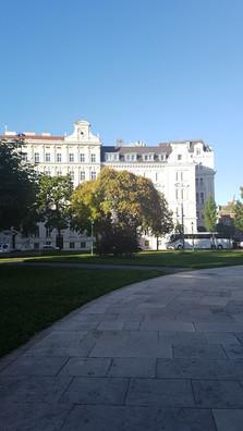 épület Bécsben