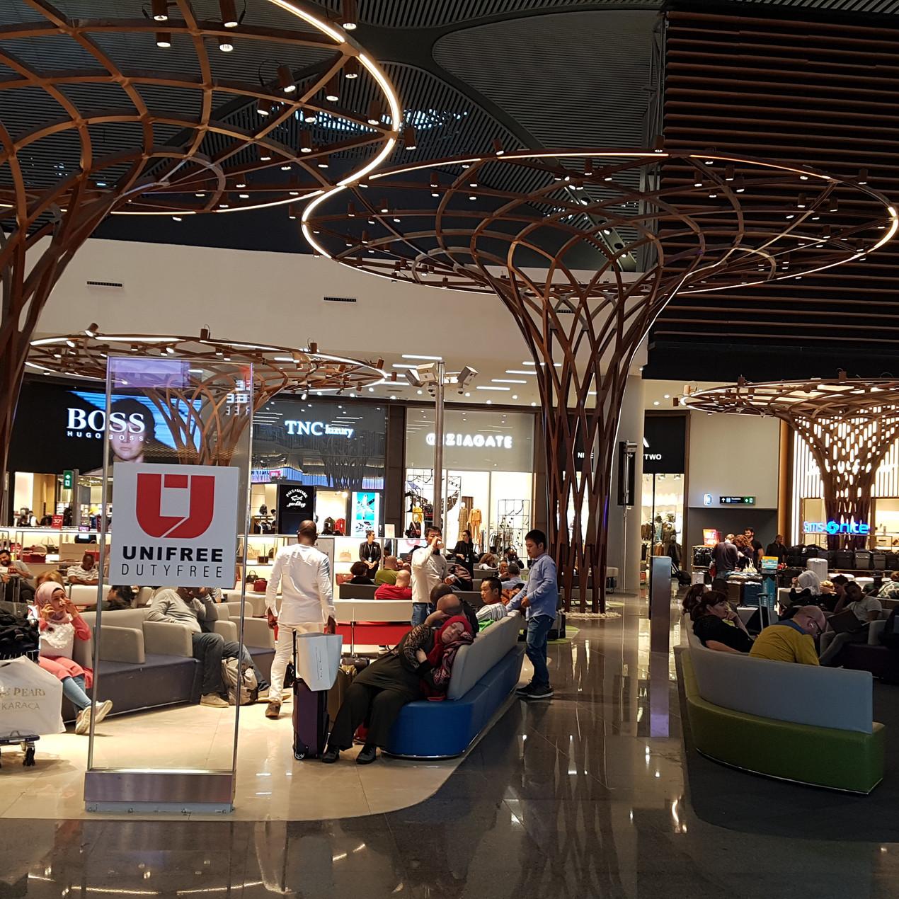 Duty free üzletek a reptéren