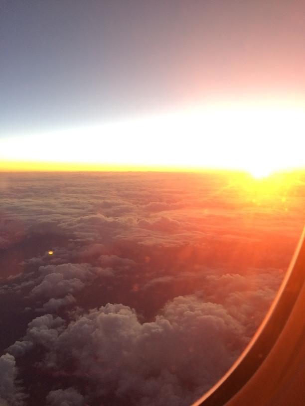 Napfelkelte útban Új-Zéland felé