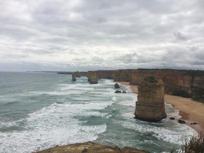 Látkép a 12 apostol szikláira,great ocean road