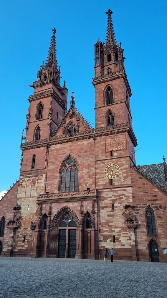 Münster katedrális, Bázel