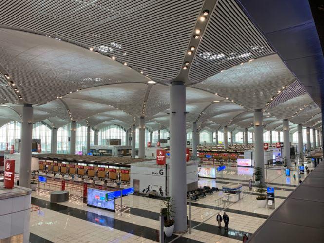 Isztambul új repülőtere