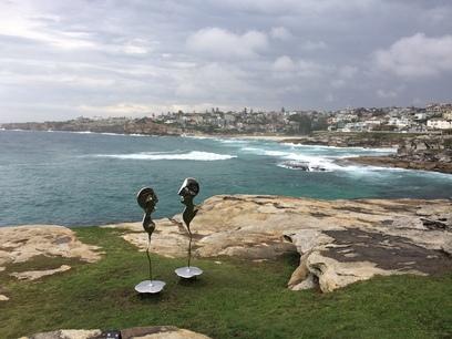 Művészet a Bondi beach-en, Sydney-ben