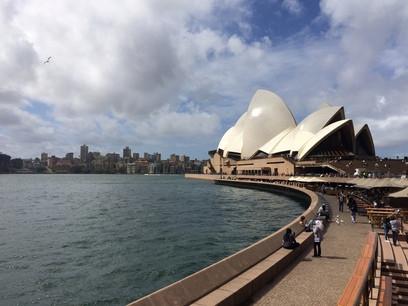 kikötő, harbour, Sydney operaház, asuztrália