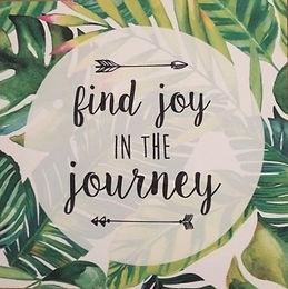 find joy; journey; utazas