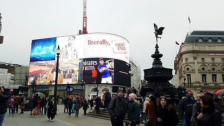 london; picadilly circus;