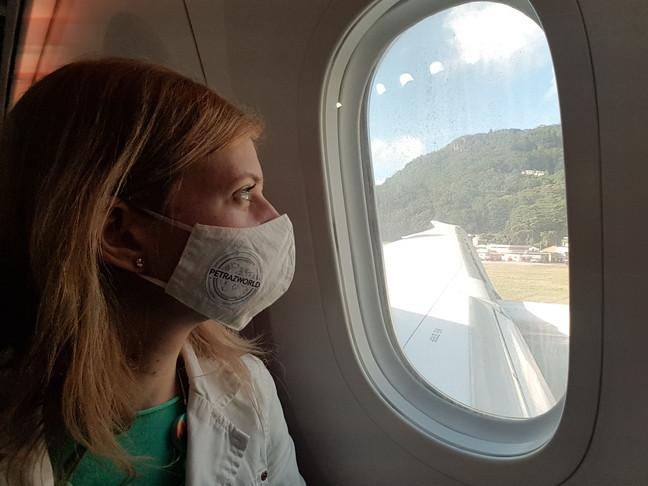 Seychelles; érkezés; repülőtér; mahé