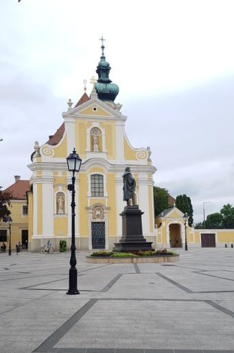 Karmelita templom, Győr, barokk stílus