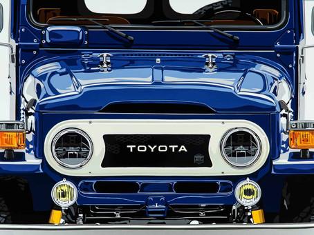 Joel Clark. Artist. Speed Icons