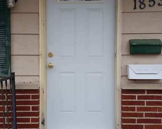 Door  and storm door replacment and wrap