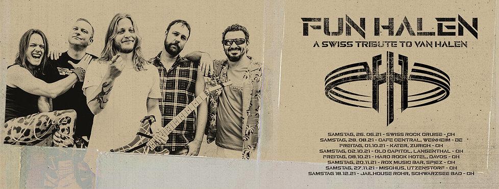 Design, Music, Zürich, Art, Fun Halen, Van Halen, Tribute Band